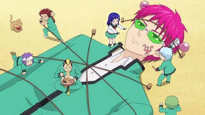 Saiki Kusuo no sai-nan | Anime Supernatural Comedy dan Slice of Life