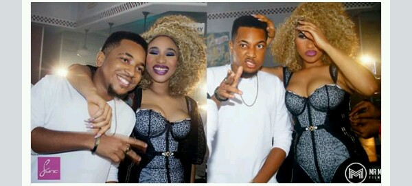 Tonto Dikeh in love?