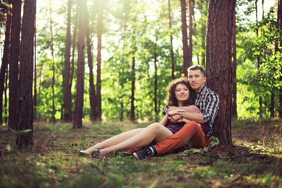 Sesja narzeczeńska - Sylwia i Patryk | Fotografia ślubna | Niemce | Lubartów