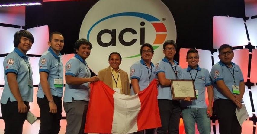 UNI: Estudiantes de la Universidad Nacional de Ingeniería triunfan en mundial con la mejor mezcla de concreto - www.uni.edu.pe