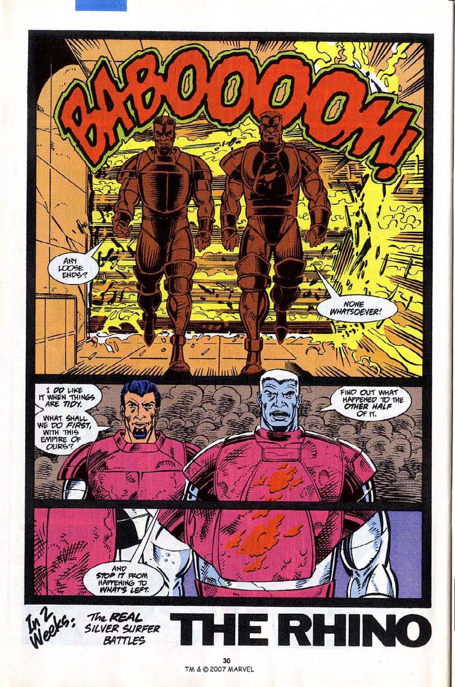 Read online Silver Surfer (1987) comic -  Issue #53 - 32