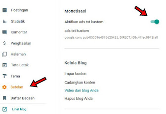 Cara Mudah Mengatasi Masalah Ads.Txt di Blogspot