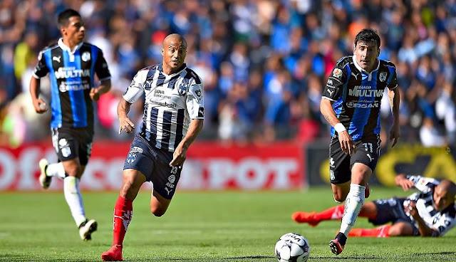 Queretaro vs Monterrey en vivo Apertura Liga MX 30 Septiembre