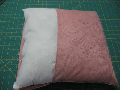 How to Sew a super easy pillow cover