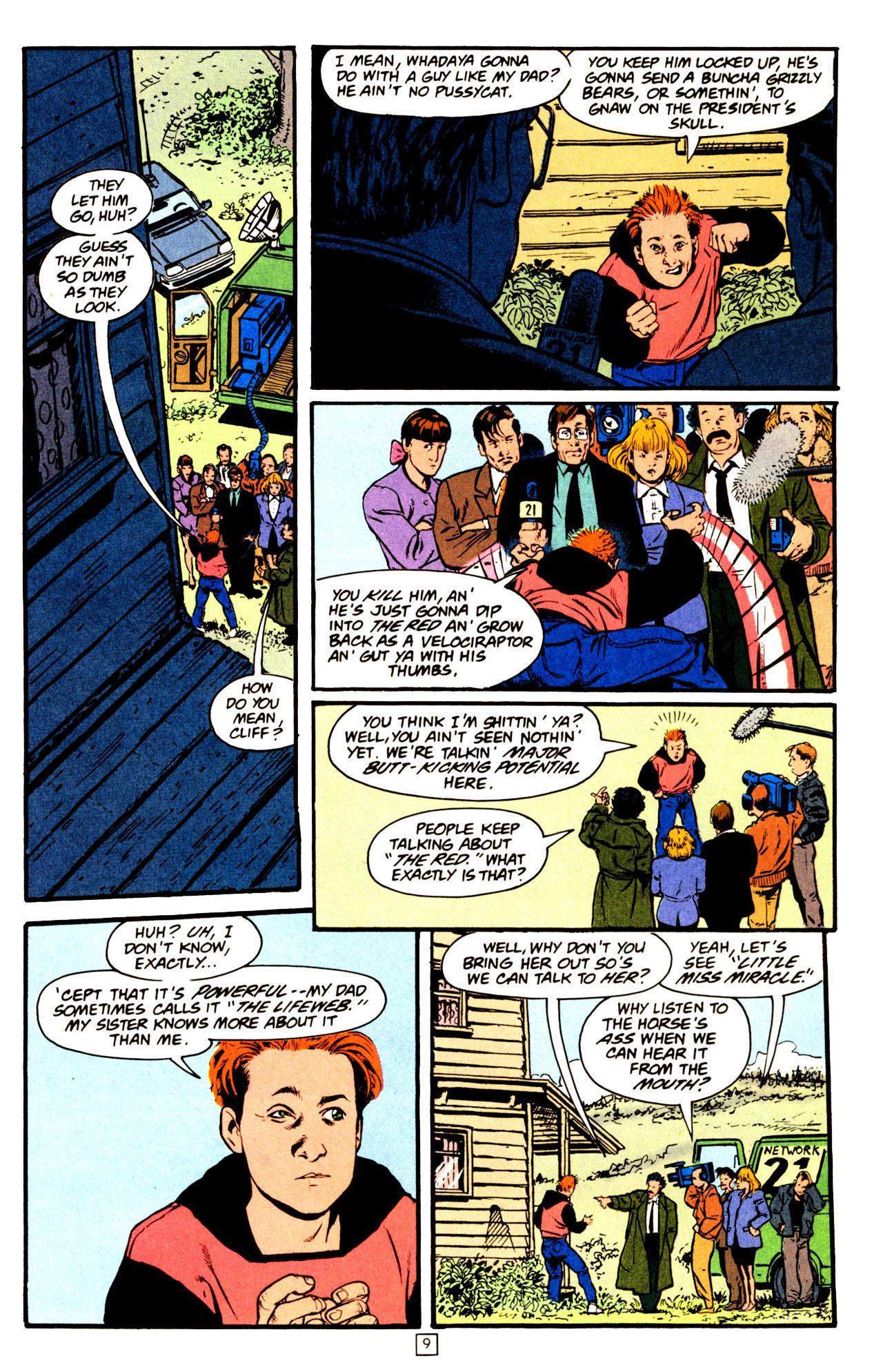 Read online Animal Man (1988) comic -  Issue #72 - 10