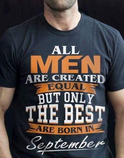 ALL MEN ARE CREATED... DISEÑO PARA PLAYERA