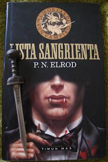 Portada del libro Lista sangrienta, de P. N. Elrond