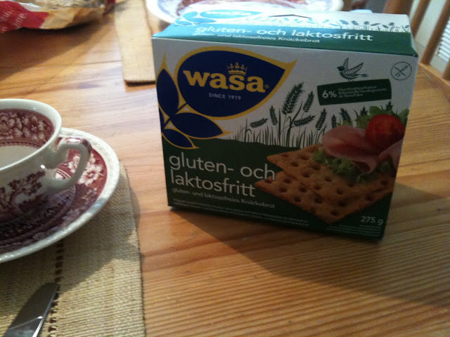 gluten and lactose free WASA bread