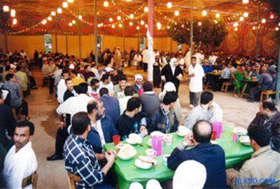 berbuka puasa di bulan Ramadhan