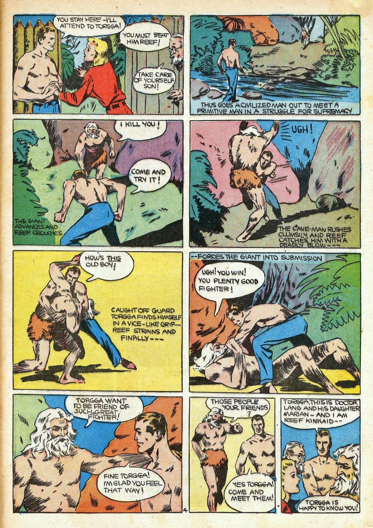 Read online Amazing Man Comics comic -  Issue #16 - 55