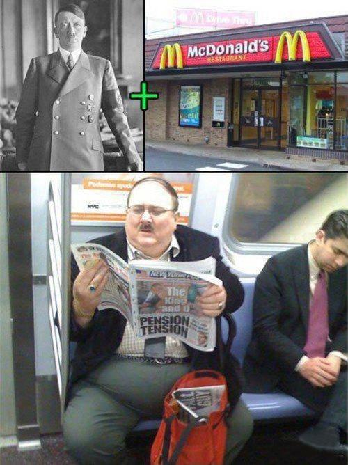 Hitler Mcdonalds