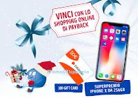 Logo Concorso '' Vinci con lo Shopping Online di PayBack'': in palio 100 buoni Zalando e 1 Iphone X