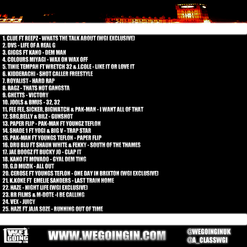 Wegoingin Have Dropped Their Latest Mixtape Get Your Money Up Which Is A Free And Features The Hottest Names In Uk Rap With Dvs Giggs Ratlin K