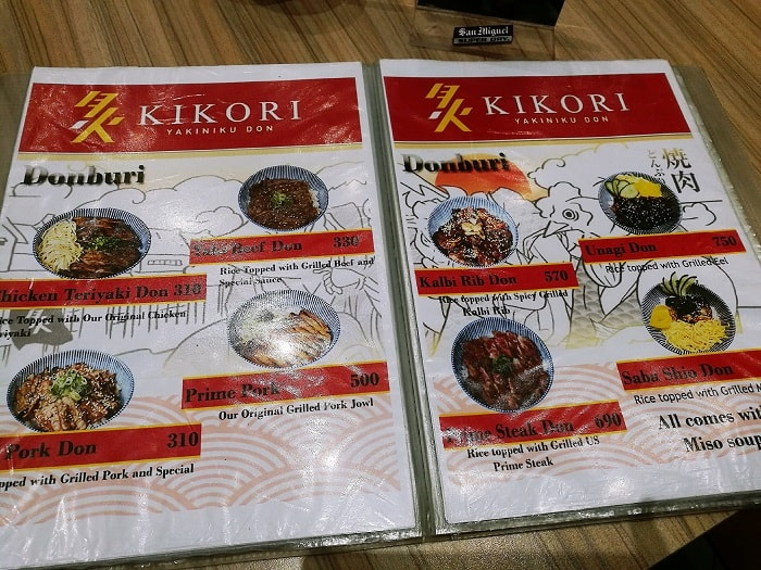 Kikori Yakiniku Don; 5 Foodie Place You Must Visit In BGC