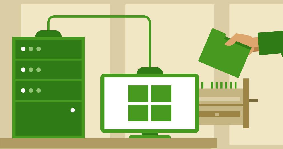 Cấu hình giải pháp lưu trữ an toàn trong Windows Server 2012 R2