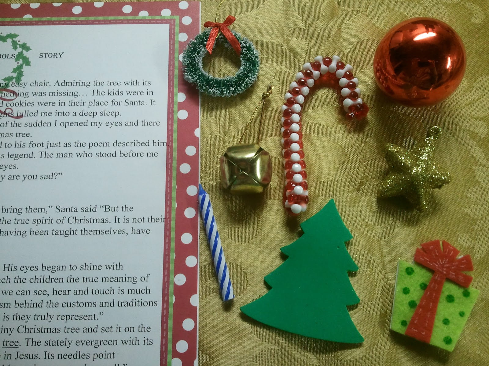 Kindergarten Amp Preschool For Parents Amp Teachers The Nativity And Santa S Symbol Story Free
