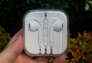 Headset iPhone 4 4s 5 5s Packing Murah