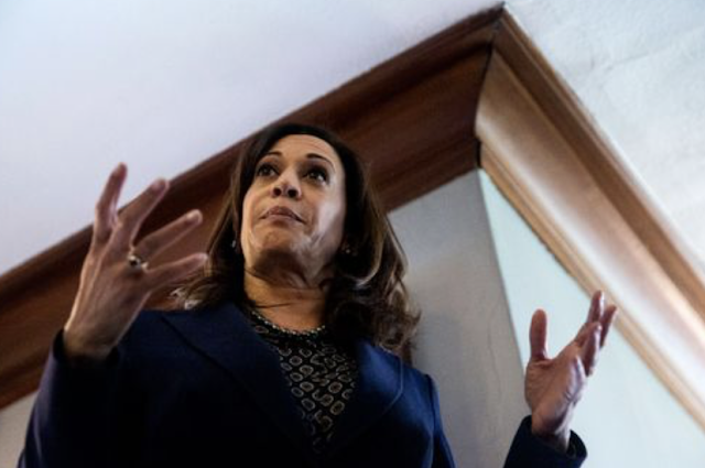 KAMALA HARRIS: 'I WILL TAKE EXECUTIVE ACTION' ON GUN CONTROL IF I AM ELECTED PRESIDENT