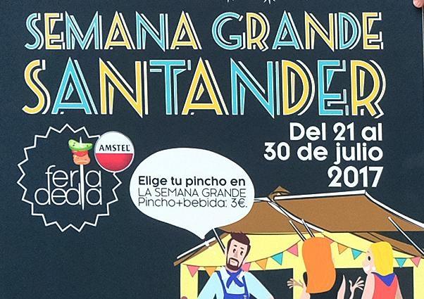 Feria de Día en Santander 2017