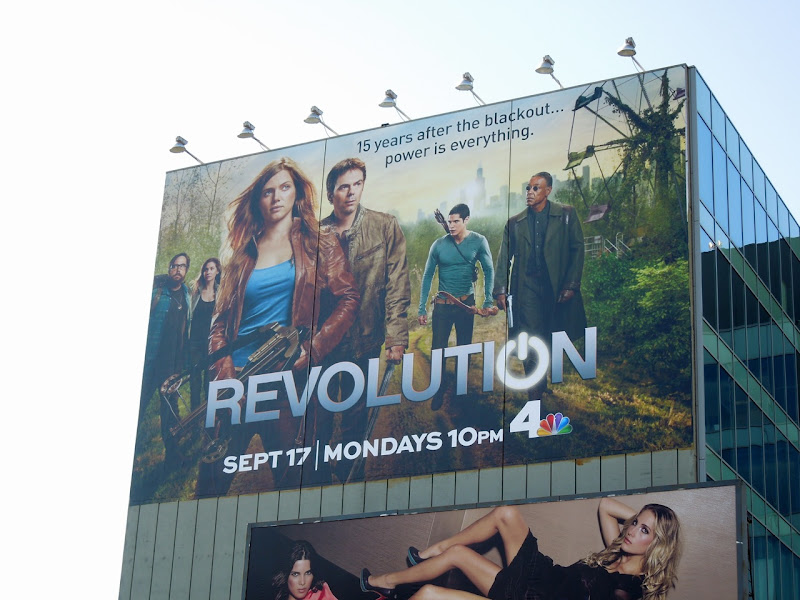 Giant Revolution series premiere billboard