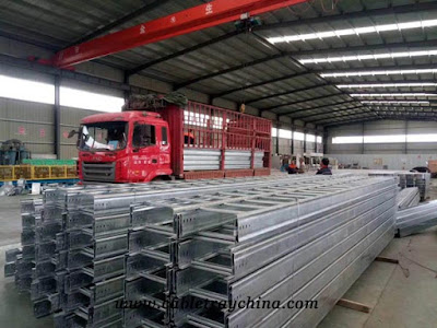 hot dip galvanize cable tray manufacturer