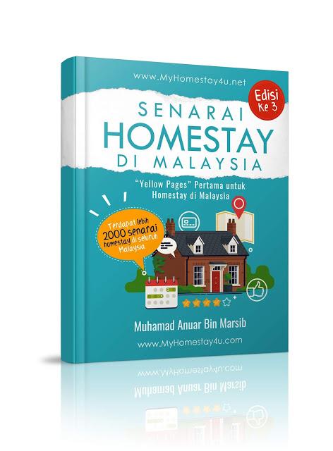 Ebook Senarai Homestay di Malaysia (Edisi ke 3)