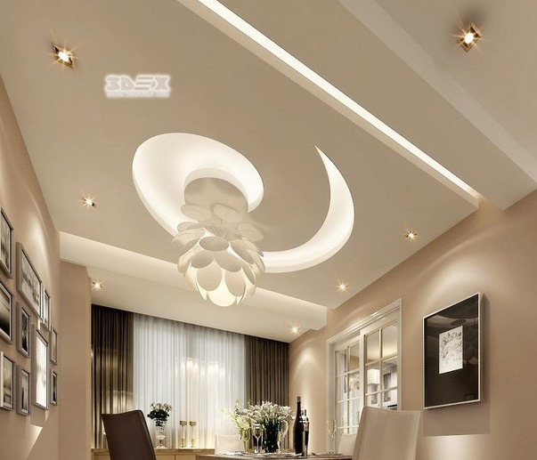 Pop false ceiling new design for New design for living room