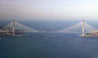 Inaugurato in Turchia il terzo ponte sul Bosforo