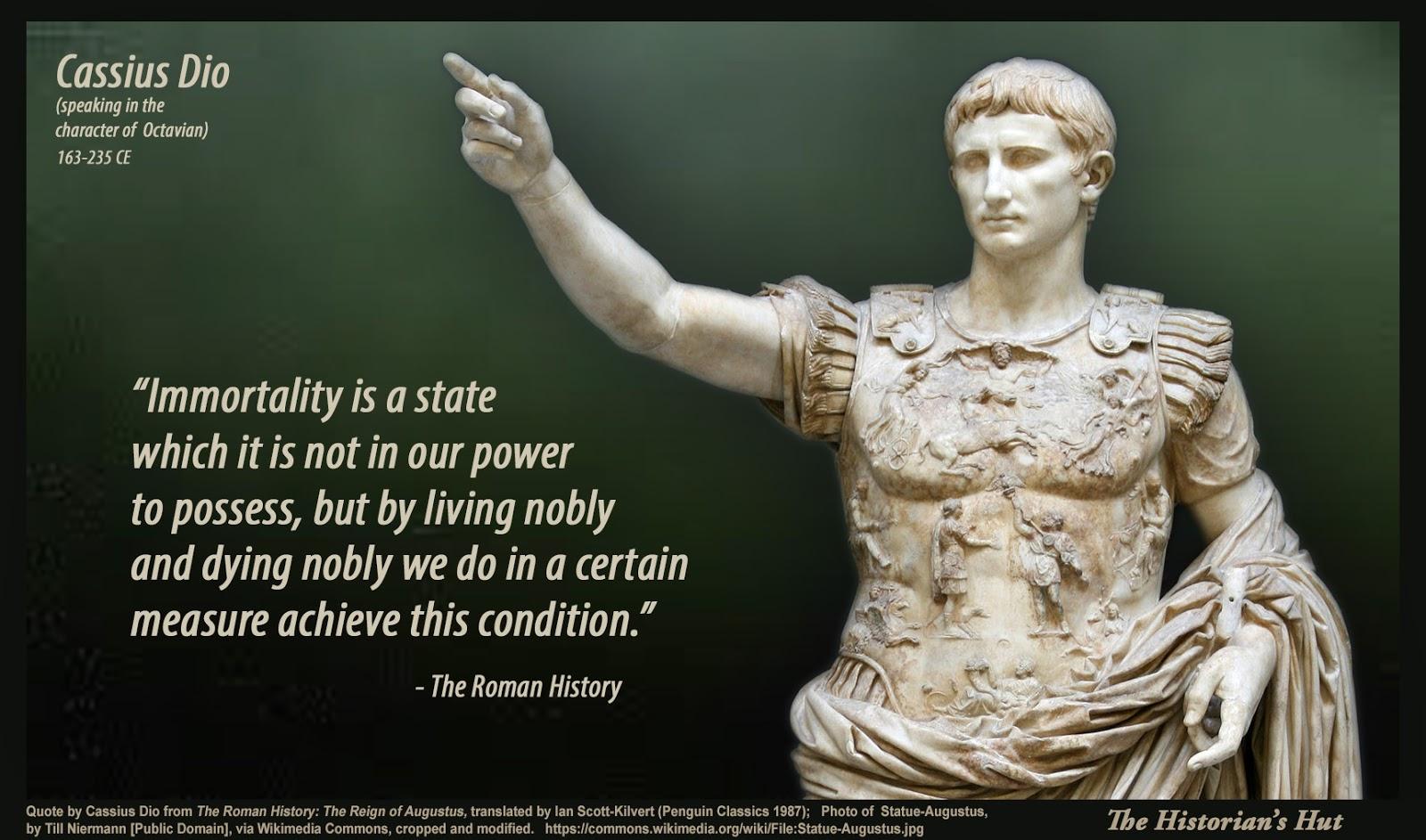 The Historian S Hut Quote Pictures Cassius Dio