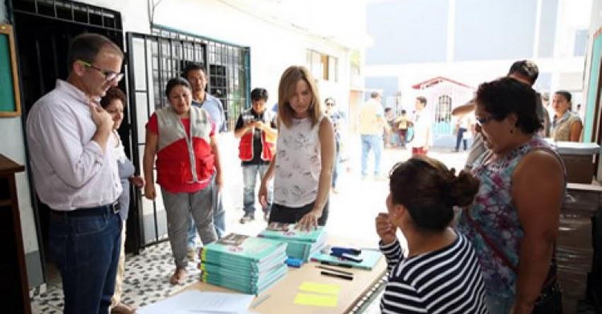 MINEDU: Ministra de Educación supervisa acondicionamiento de colegios en Comas y Carabayllo - www.minedu.gob.pe