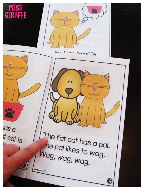 Short a decodable reader and other great short vowels activities and resources - so many ideas on this post!