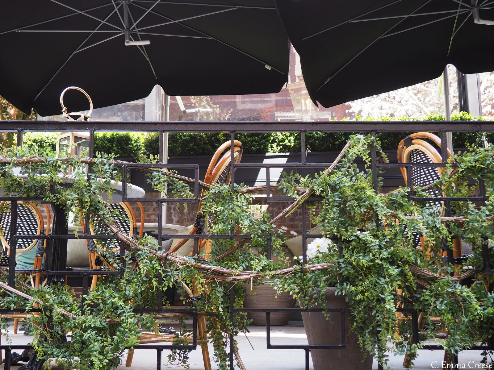 An annual afternoon tea at dalloway terrace bloomsbury for Bloomsbury hotel terrace