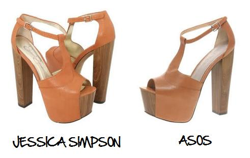 Clones 2011 sandalias Jessica Simpson Asos