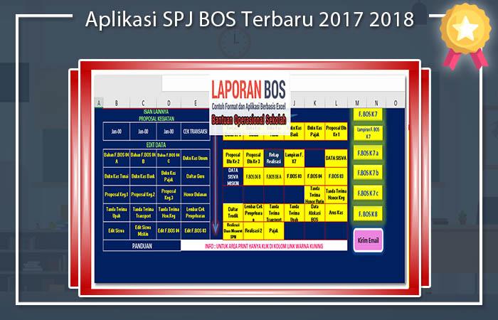 Aplikasi SPJ BOS Terbaru 2017 2018