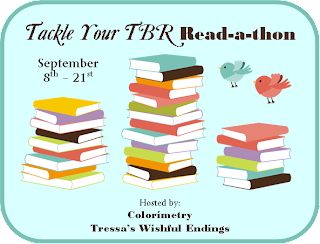 Signed on for Tackle Your TBR Read-a-thon