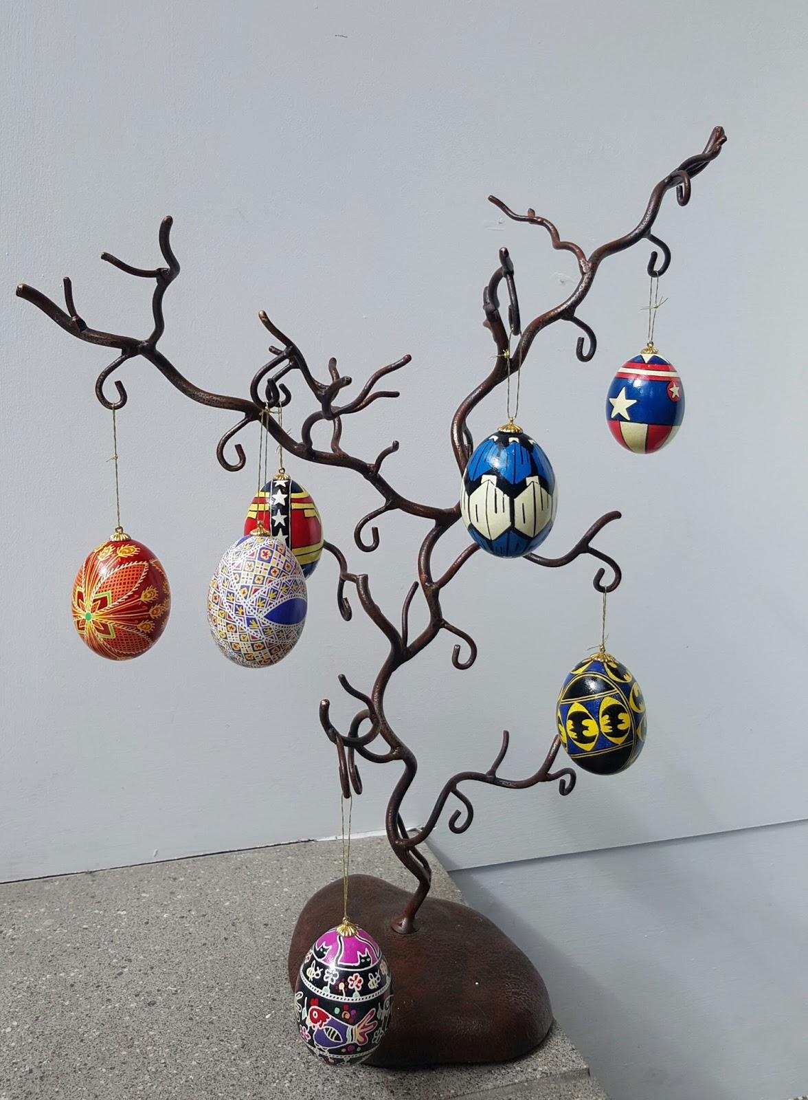 Argyle Fine Art: GET CRACKING: Ukrainian Eggs by Ruby Boutilier just ...