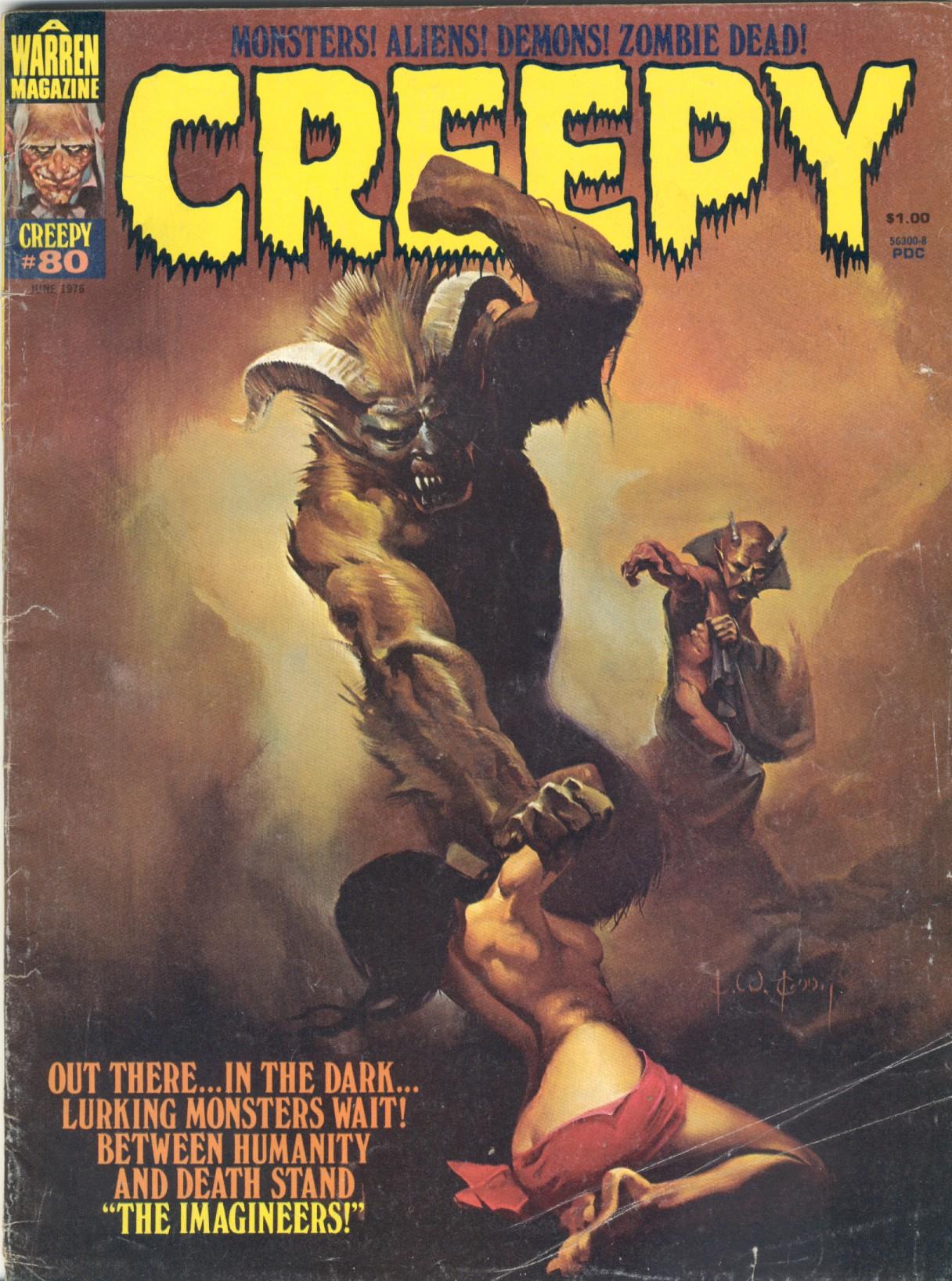 Creepy (1964) 80 Page 1