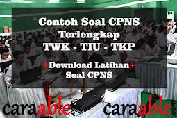 Contoh Soal CPNS TWK TKP TIU, Untuk Latihan Soal Tes CPNS 2019