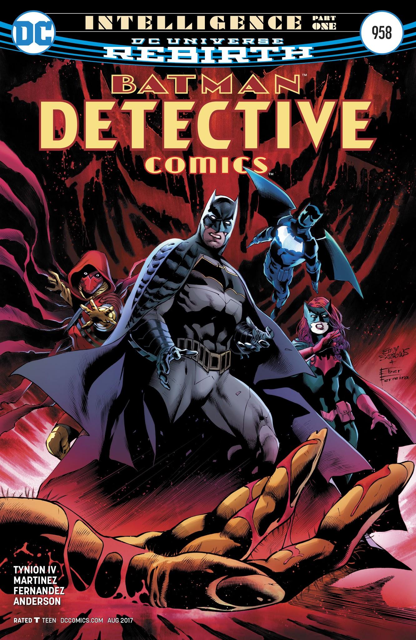 Detective Comics (1937) 958 Page 1