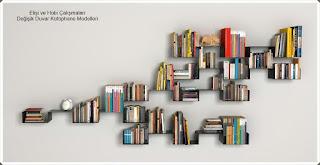 Kütüphane Modelleri  - Dekorasyon  5