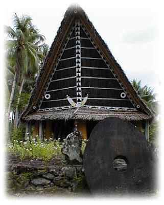 Capanna tipica di Yap