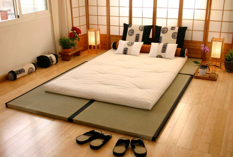 japanese style decor bedroom