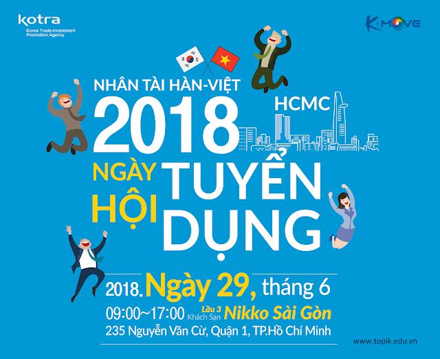 Ngày hội tuyển dụng các doanh nghiệp Hàn Quốc Jobfair 2018