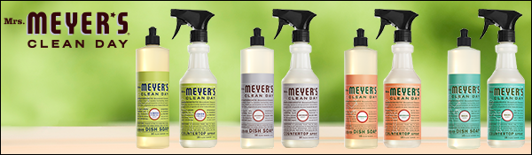 mrs meyers clean day products