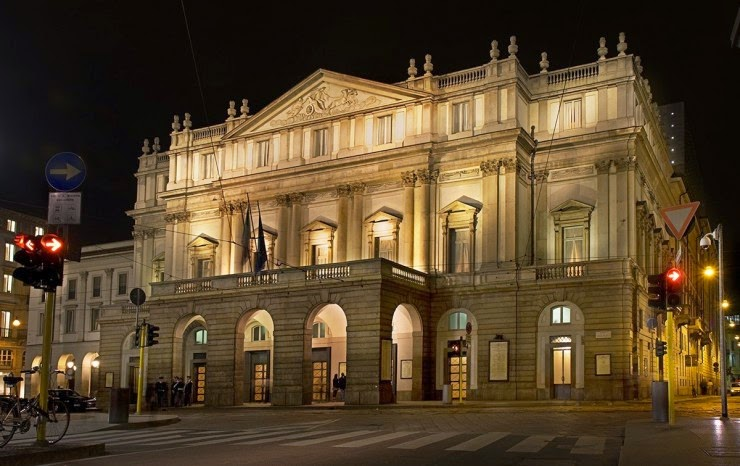 1. La Scala, Milan, Italy - Top 10 Opera Houses in the World