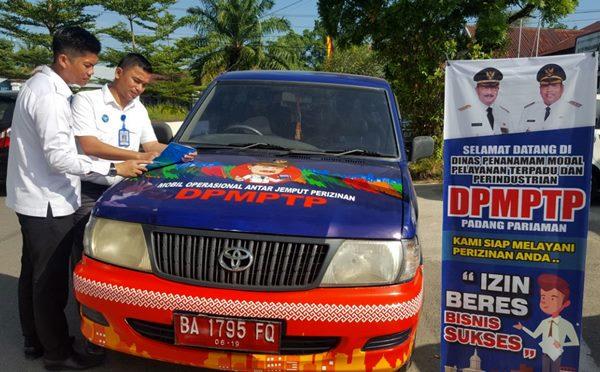 Perizinan Padangpariaman Jemput Bola dengan Mobil Keliling