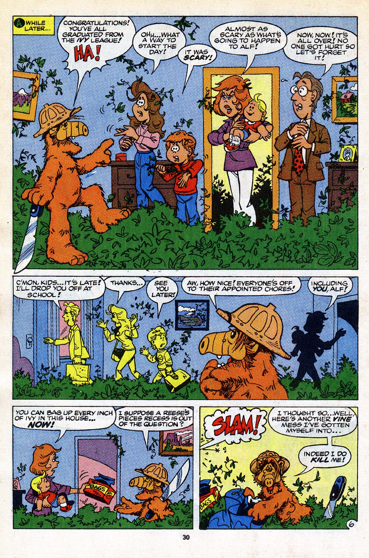 Read online ALF comic -  Issue #26 - 24