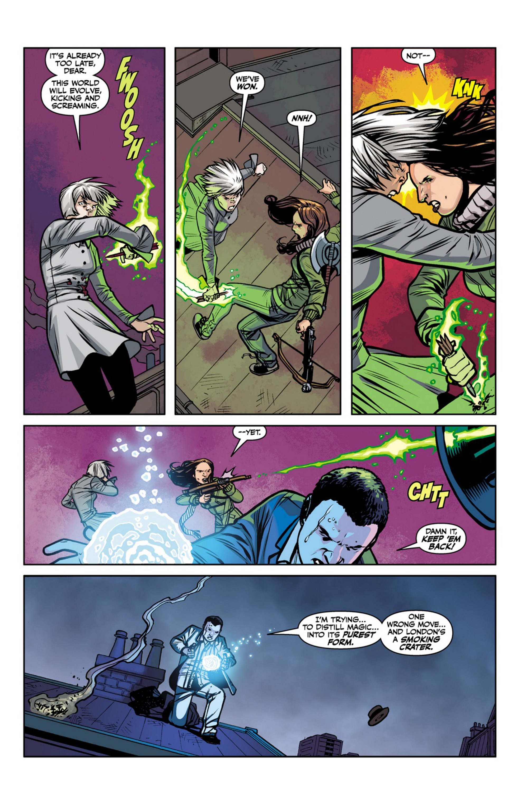 Read online Angel and Faith comic -  Issue #23 - 6