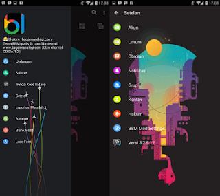 BBM Mod City Hole (BBM Mod WhatsApp Messenger)  Apk Terbaru