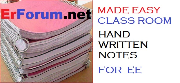 Made Easy Hand Written Notes of EE (Electrical Engineering